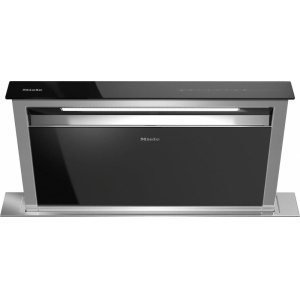 MieleDA 6891 36-inch downdraft ventilation hood optional external or internal blower for maximum versatility.