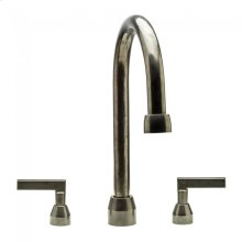 Deck Mount Tub Filler Silicon Bronze Brushed
