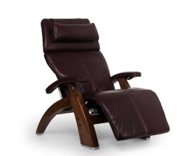 Perfect Chair PC-600 Omni-Motion Silhouette - Burgundy Premium Leather - Walnut