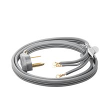 Smart Choice 6' Long 3 Wire 30 AMP 240 Volt Dryer Cord
