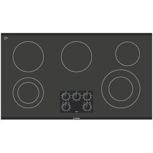 BOSCH36 Black Electric Cooktop 300 Series - Black