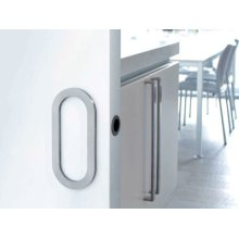 Obround Sliding Door Handle