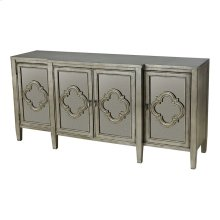 4-door Cabinet -with Antique Mirror