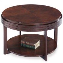 Chocolate Cherry Round Condo/Apartment Coffee Table #10108-CH