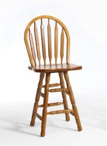 Dining - Classic Oak Plain Arrow Counter Stool Product Image