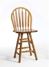 Dining - Classic Oak Plain Arrow Counter Stool Product Image