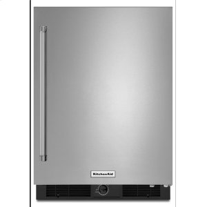 "Kitchenaid24"" Undercounter Refrigerator With Stainless Steel Door"