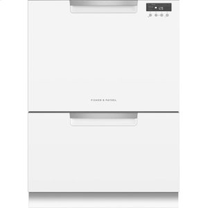 Double DishDrawer , 14 Place Settings, Sanitize (Tall) - WHITE