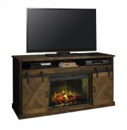 "Farmhouse 66"" Fireplace Console AWY Product Image"