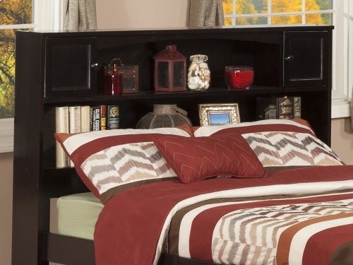 Newport Bookcase Headboard Full Espresso