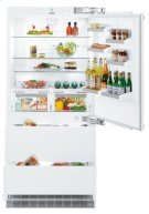 """36"""" Combined refrigerator-freezer with BioFresh and NoFrost for integrated use Product Image"""