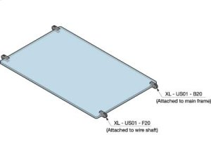 Type B Shelf Support for Shaft