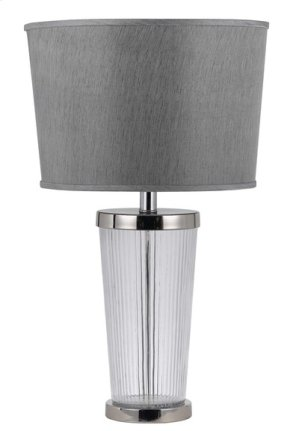 150W 3 WAY RUMFORD GLASS TABLE LAMP