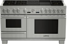60-Inch Pro Grand® Commercial Depth Dual Fuel Steam Range