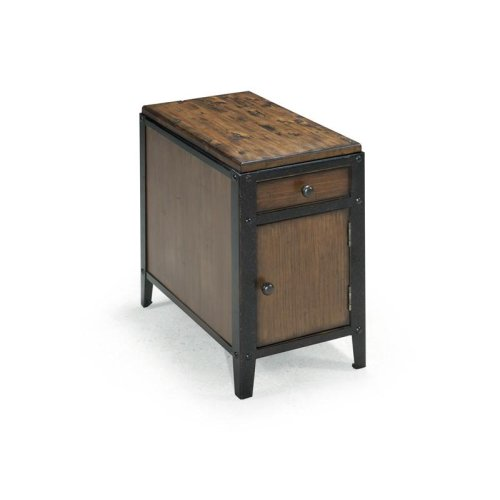 Chairside Door End Table