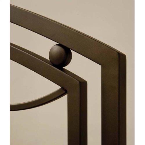 Arlington Bed Set In Bronze Metal (bed Frame Not Included) - Full