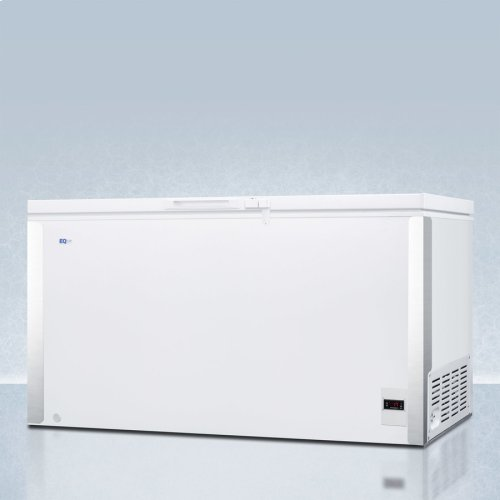 Commercially Listed 17 CU.FT. Frost-free Chest Freezer In White With Digital Thermostat for General Purpose Storage; Replaces Scff150