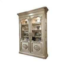 St. Catherine Bookcase with Glass