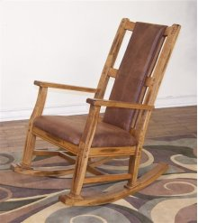 Sedona Rocker With Cushion Seat and Back