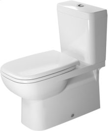 White D-code Toilet Close-coupled