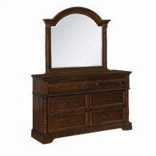Chandler Traditional Heirloom Brown Mirror