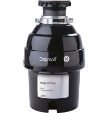 GE® 3/4 HP Continuous Feed Garbage Disposer - Non-Corded