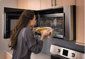 [CLEARANCE] Frigidaire Professional 1.8 Cu. Ft. 2-In-1 Over-The-Range Convection Microwave. Clearance stock is sold on a first-come, first-served basis. Please call (717)299-5641 for product condition and availability.