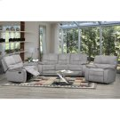 Edmonton Recliner Love Seat Grey Product Image