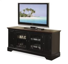 "Anelli II 60"" TV Console Vintage Cherry/Bridgewood Black finish"