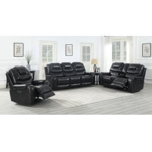 Triple Power Reclining Sofa & Loveseat
