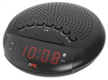 Am/fm Bluetooth Dual Alarm Clock Radio