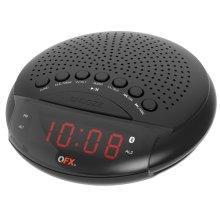 Am/fm Bluetooth Dual Alarm Clock Radio