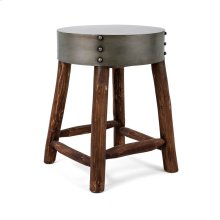 Dumin Metal Top Stool