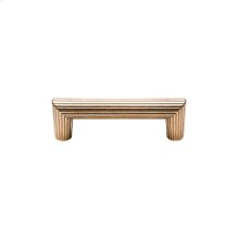 Flute Cabinet Pull - CK10064 White Bronze Medium