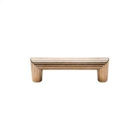 Flute Cabinet Pull - CK10064 White Bronze Medium