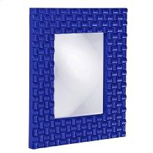 Justin Mirror - Glossy Royal Blue