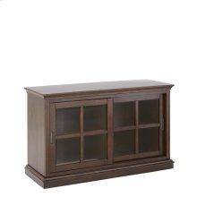 "Teton Bookcase Cabinet, Merlot, 45""x16""x23"",Overall 46""x17""x30"""