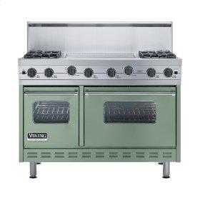 """Mint Julep 48"""" Sealed Burner Range - VGIC (48"""" wide, four burners 24"""" wide griddle/simmer plate)"""