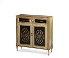 Tall Storage Chest, Gold & Brown Product Image