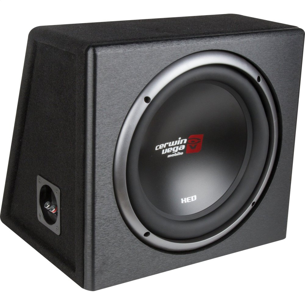 XED Series X9E10SV Single 10-Inch Subwoofer in Loaded Enclosure