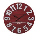 TY Berry Patch Wall Clock Product Image
