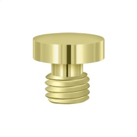 Button Tip - Polished Brass