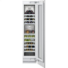 "400 Series Wine Storage Unit Fully Integrated, With Two Temperature Zones Width 18"" (45.7 Cm)"