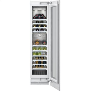 "Gaggenau400 Series Wine Storage Unit Fully Integrated, With Two Temperature Zones Width 18"" (45.7 Cm)"