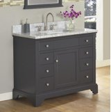 "Framingham 42"" Vanity - Obsidian Product Image"