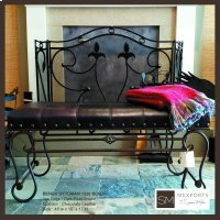 1220 Wrought Iron Bench Product Image