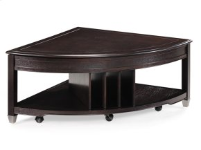 Pie Shaped Cocktail Table