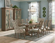 Dining Room Curio *Table Pictured Not Available*