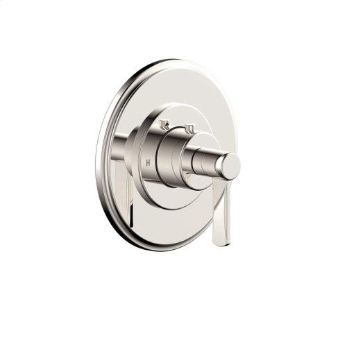 Thermostatic Valve Trim Darby (series 15) Polished Nickel