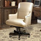 DC#106 Biscuit Leather Desk Chair Product Image